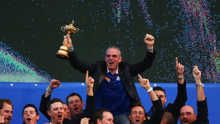 McGinley lead Europe to victory at Gleneagles in 2014