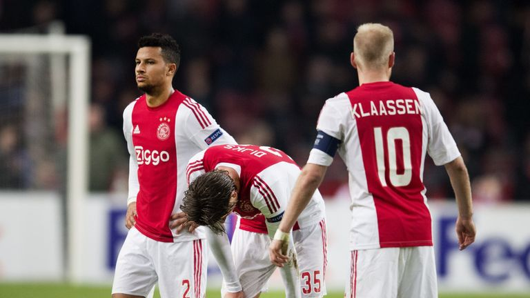 Ajax slipped up at home to NEC on Sunday