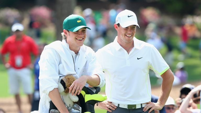 Horan caddied for Rory McIlroy at Augusta last year