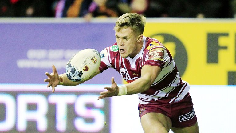 Lewis Tierney returns to the Wigan Warriors 19-man squad