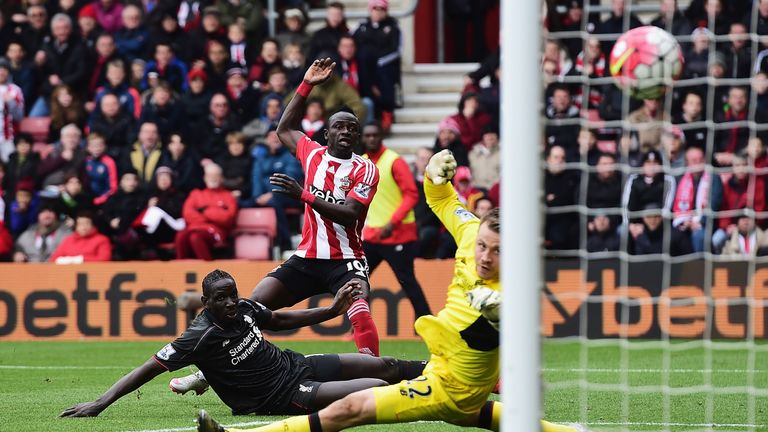 Saido Mane scored a double in Southampton win