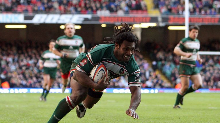 Seru Rabeni made 63 appearances for Leicester Tigers