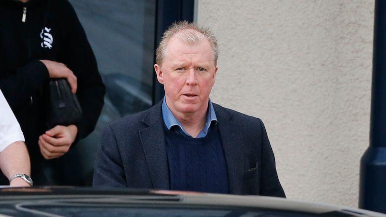 Steve McClaren was sacked on Friday morning