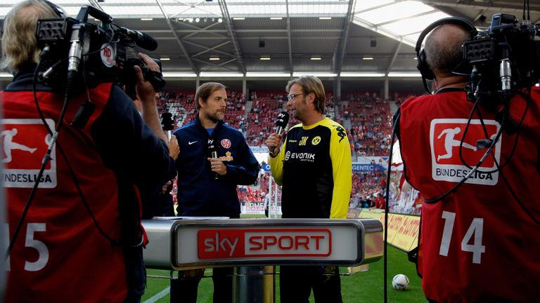Tuchel and Klopp both managed Mainz before moving to Dortmund