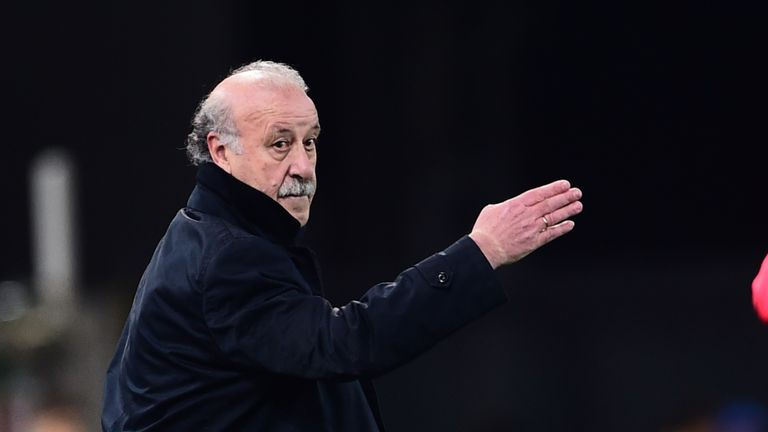 Spain coach Vicente Del Bosque was pleased with Aduriz's impact
