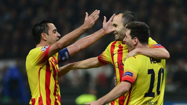 Xavi, Andreas Iniesta and Lionel Messi are all products of the La Masia academy
