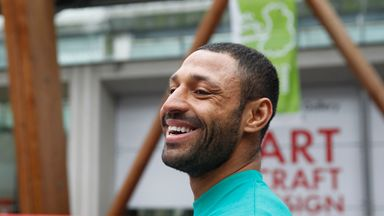 Kell Brook is training at Sheffield Hallam University ahead of his bout with Gennady Golovkin