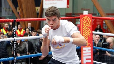 Luke Campbell is up against the experienced Derry Mathews