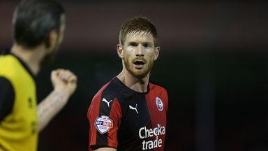 Matt Harrold: Crawley striker ruled out