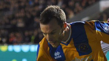 Shaun Whalley: Injury blow for Shrewsbury