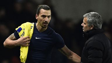 Zlatan Ibrahimovic could be reunited with Jose Mourinho at Manchester United