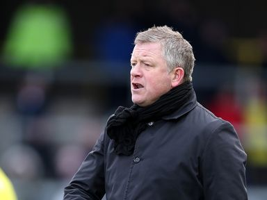 Northampton Town manager Chris Wilder is not going to Charlton
