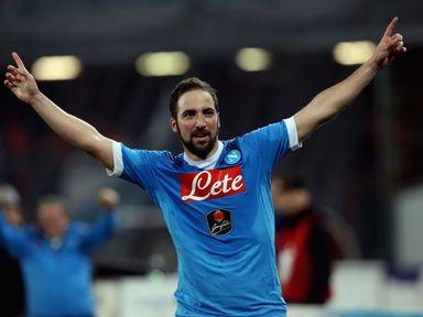 Gonzalo Higuain: Set for Juventus move