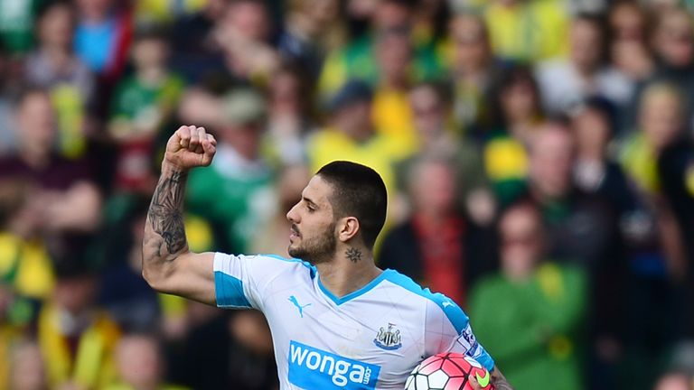 Aleksandar Mitrovic: Set to step in for Dwight Gayle