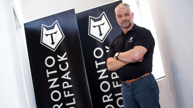 Toronto Wolfpack Director of Rugby Brian Noble is the former Wigan and Great Britain national team coach