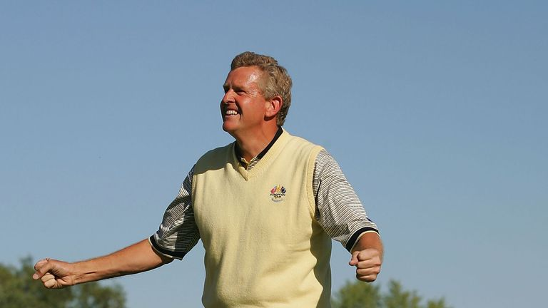 Colin Montgomerie took over from Seve as European team talisman