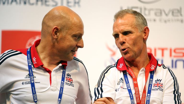 Sir Dave Brailsford and Shane Sutton worked closely together at British Cycling
