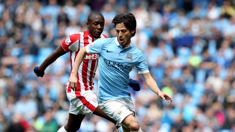 David Silva will not be available for City