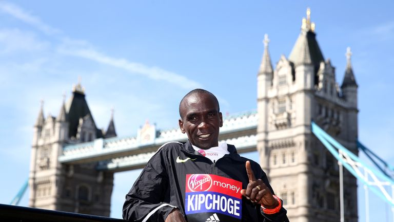 Kenya's Eliud Kipchoge is coming back to London