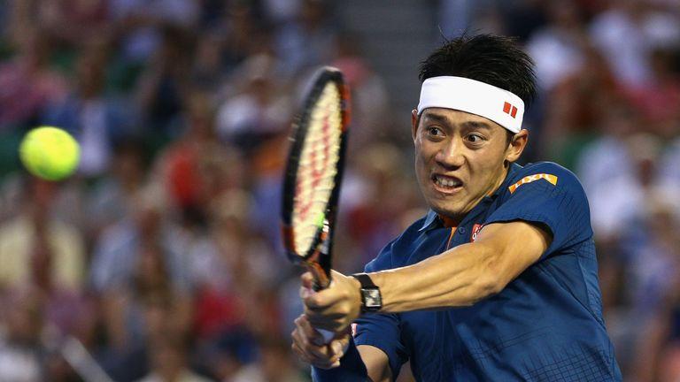 Kei Nishikori tasted victory at this event last year