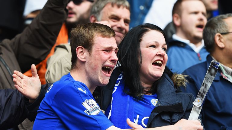 Leicester fans are on the brink of one of the greatest upsets in football history