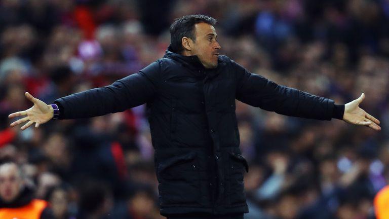Luis Enrique took full responsibility for Barcelona's Champions League defeat