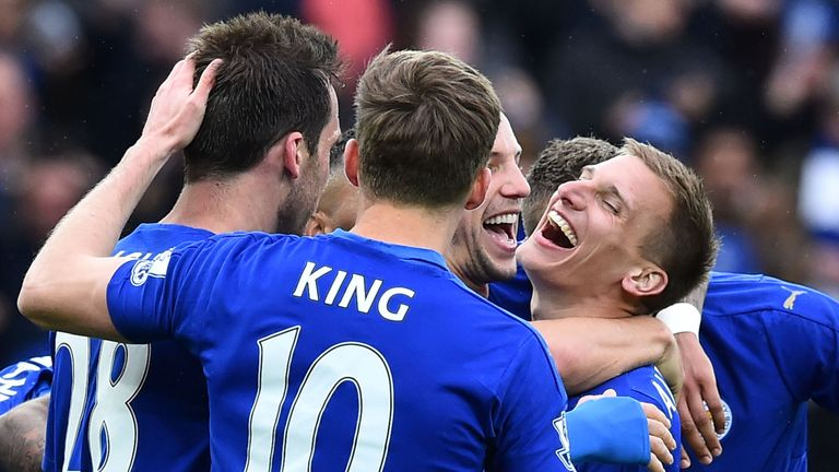 Leicester will win the Premier League title with a victory over Manchester United