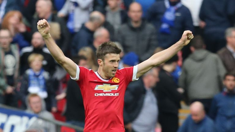 Michael Carrick was due to be out of contract this summer