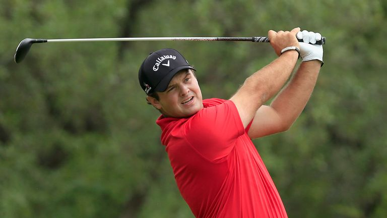 Patrick Reed missed two great chances for birdie at 16 and 17