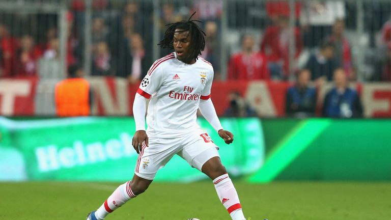 Sanches was reportedly being targeted by several of Europe's top clubs