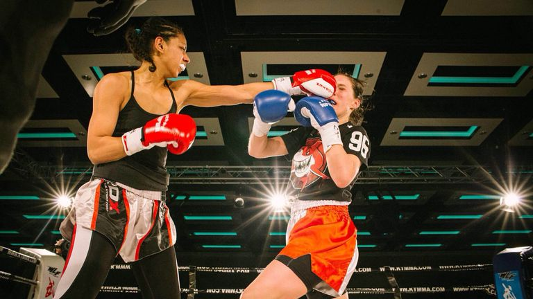 Ruqsana Begum is Britain's first South Asian female WKA world champion
