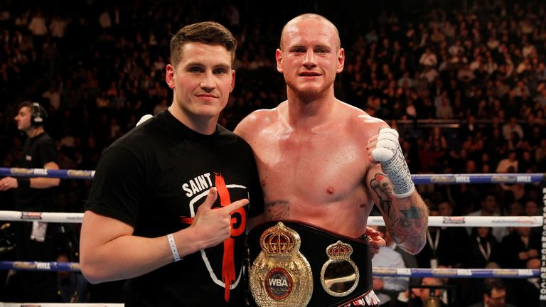 Groves' with new trainer McGuigan