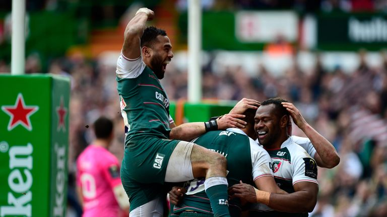 Leicester Tigers are one of three English teams in the Champions Cup semi-finals