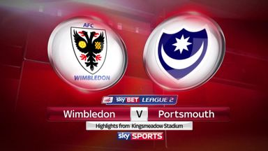 Wimbledon 0-1 Portsmouth
