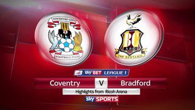 Coventry 1-0 Bradford