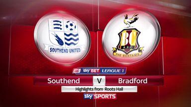 Southend 0-1 Bradford