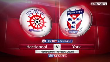 Hartlepool 2-1 York