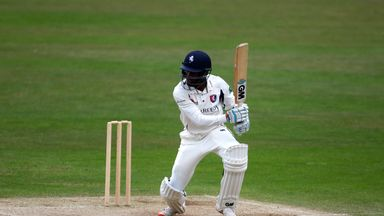 Daniel Bell-Drummond finished unbeaten on 86 for Kent