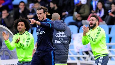 Bale scored the late winner for Real Madrid
