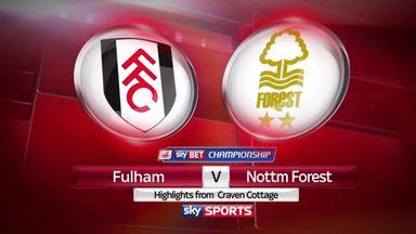 Fulham 1-3 Nottingham Forest
