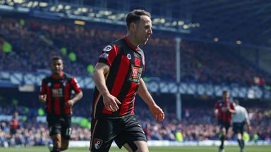 Despite Marc Pugh's equaliser, Bournemouth were beaten at Everton last time out
