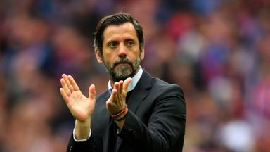 Quique Sanchez Flores is back in work after signing a three-year deal with Espanyol