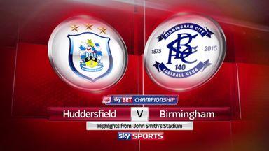 Huddersfield 1-1 Birmingham