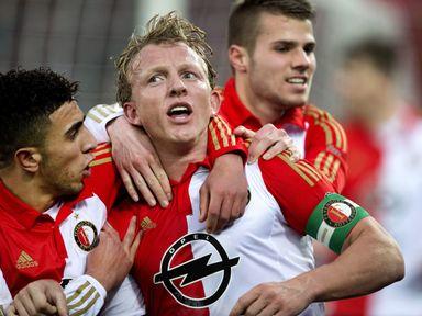 Feyenoords' Dirk Kuyt: Scored twice
