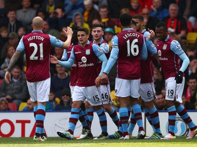 Aston Villa are the only relegated Premier League team in the EFL Cup first-round draw