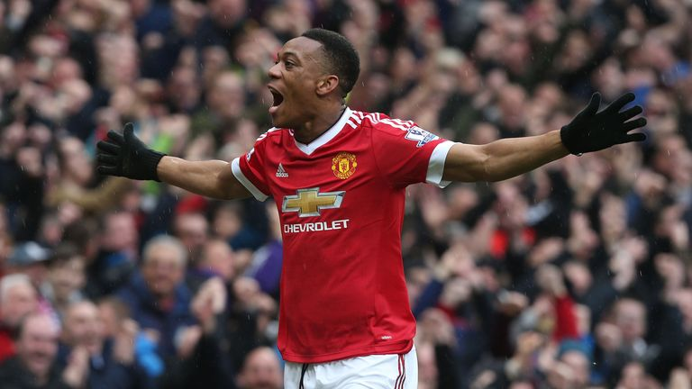 Anthony Martial had given Manchester United the lead