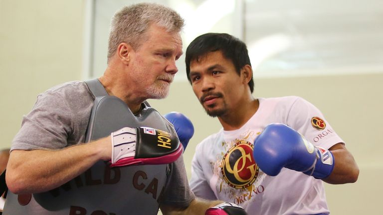 Freddie Roach has masterminded Pacquiao's career