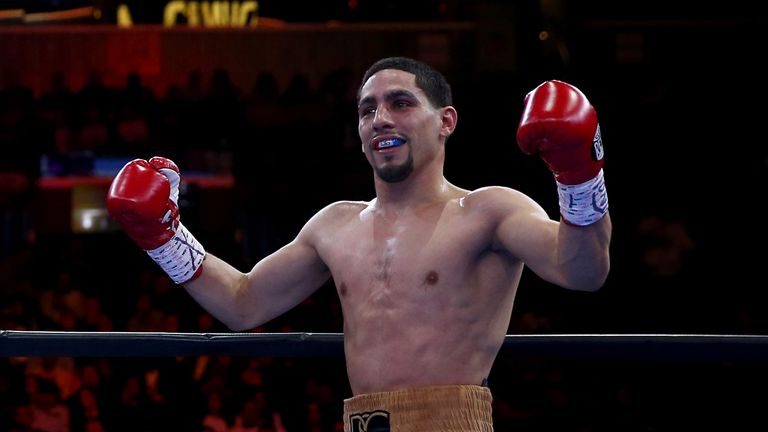 Danny Garcia is seen as a potential opponent for Manny Pacquiao