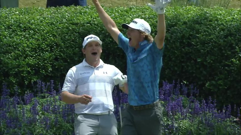 Will Wilcox made the first ace on the 17th at TPC Sawgrass since 2002