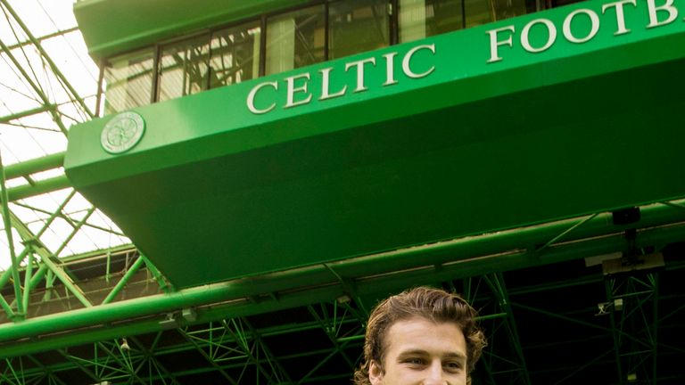 Erik Sviatchenko is keen to don the hooped jersey at Celtic Park in the near future